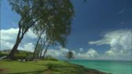 WS View of beach / Oistins, Christchurch, Barbados