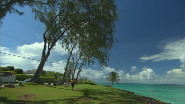 WS PAN View of beach / Oistins, Christchurch, Barbados