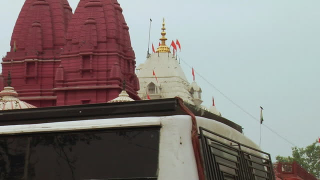 WS ZO View of Birla temple / Delhi, India