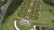 WS AERIAL View of Botanical Gardens / Parana, Brazil