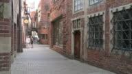 WS View of Böttcher street / Bremen, Germany