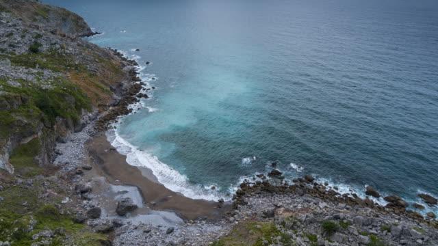 View of Buciero mount from Liendo, Cantabrian sea, Montaña Oriental Costera, Cantabria, Spain, Europe