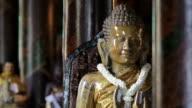 MS View of  buddha statue / Bangkok, Thailand