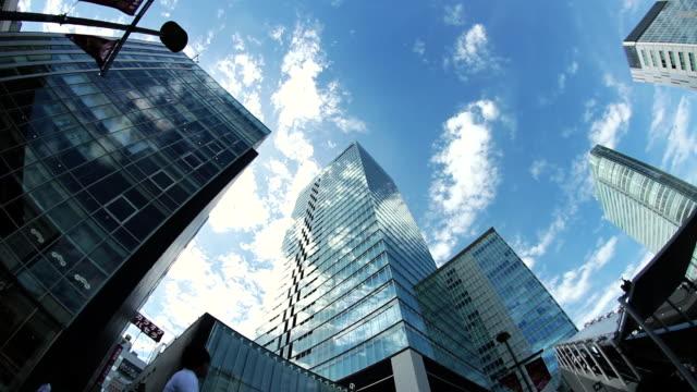 WS LA View of buildings / Akihabara, Tokyo, Japan