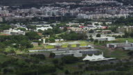 WS AERIAL View of buildings and trees / Brasilia, Brazil