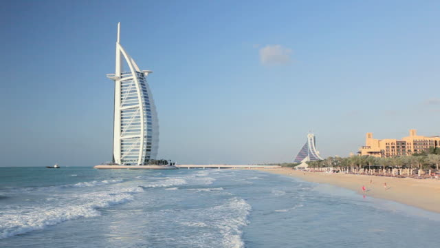 WS View of Burj Al Arab Hotel / DUBAI, United Arab Emirates