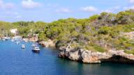 View of Cala Figuera bay ( Santanyí ) of Balearic Islands Majorca / Spain