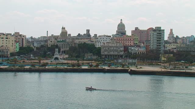 WS View of Capitolio in city / Havana, Cuba
