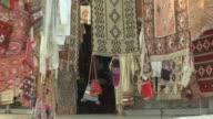 MS ZO View of carpet store at Macedonia street / Skopje, Macedonia