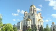 View of Cathedral in Ekaterinburg(Russian culture, Landmark)
