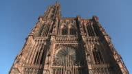 MS  View of  cathedral munster / Strasbourg, Alsace, France