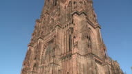 WS TU View of  cathedral munster / Strasbourg, Alsace, France