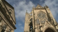 WS View of  cathedral Saint-Etienne de Metz  / Metz, Lorraine, France