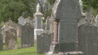 MS View of cementery / Cromdale, Speyside, Scotland