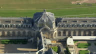MS AERIAL ZO ZI View of Chantilly Stables / Picardy, France