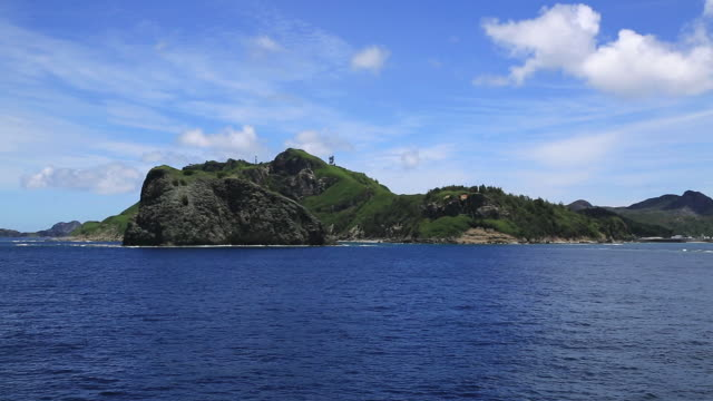 WS POV View of Chichi jima island, UNESCO World Natural Heritage Ogasawara Islands / Ogasawara Islands, Tokyo, Japan