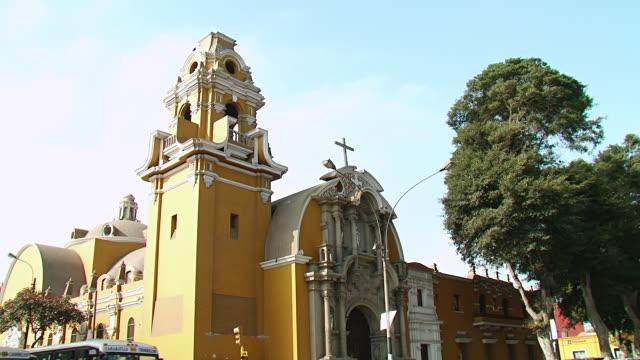 WS TU View of Church / Lima, Peru