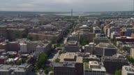 WS AERIAL ZI View of city and Washington Monument / Washington, Dist. of Columbia, United States