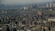 WS POV View of cityscape / New York City, New York, USA