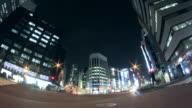 WS LA T/L View of cityscape / Shinjuku, Tokyo, Japan
