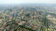 AERIAL View of cityscape/ Xi'an, Shaanxi, China