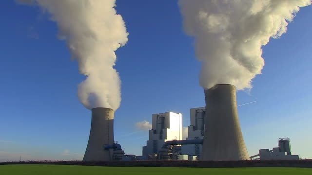 WS View of Coal power plant Neurath / Neurath, North Rhine Westphalia, Germany