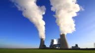 WS LA View of Coal power plant Neurath / Neurath, North Rhine Westphalia, Germany