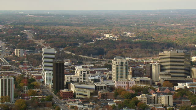 Columbia City (IN) United States  City new picture : Ws Aerial View Of Columbia City South Carolina United States Stock ...
