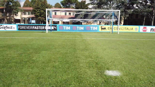 View of Coverciano Training Center on October 1 2017 in Coverciano Italy