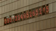 MS View of debt clock / New York, New York,United States