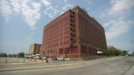 WS View of derelict building / Memphis, Tennessee, United States