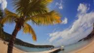 WS View of English harbor beach / English Harbor, Antigua and Barbuda