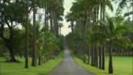 WS View of entrance to Codrington college / St John, Barbados