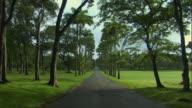 WS TU View of entrance to Codrington college / St John, Barbados