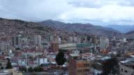 View of Estadio Olympico /La Paz, Bolivia
