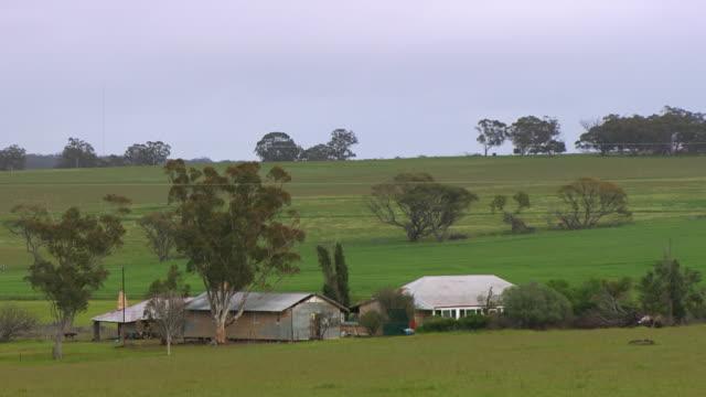 WS View of Farm houses / Coolgardie and Kalgoorlie, Western Australia, Australia