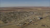 WS AERIAL View of farmland / Texas, United States