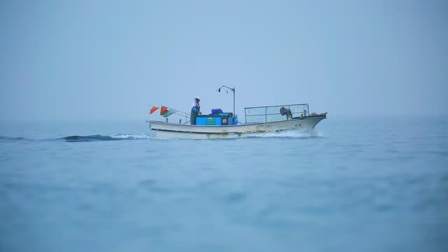 View of fisherman