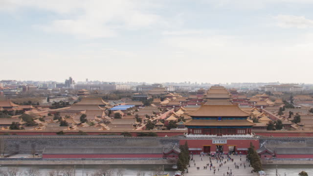 A View of Forbidden City From Jingshan Park