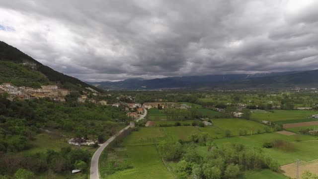 A view of Fossa near L'Aquila on May 7 2017 The small country of Fossa was damaged by 2009 Abruzzo Earthquake
