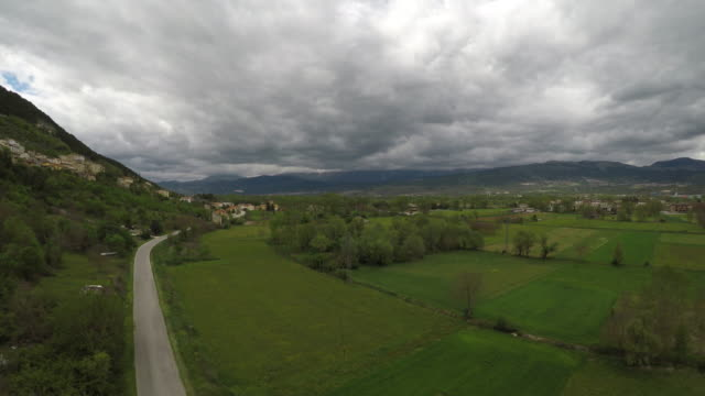 A view of Fossa on May 6 2017 The small country of Fossa was damaged by 2009 Abruzzo Earthquake