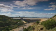 WS View of Gariep Dam wall / Free State, South Africa
