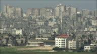 WS PAN View of Gaza Strip / Gaza, Gaza strip, Israel