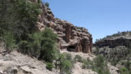 WS View of Gila Cliff Dwellings National Monument / Catron, New Mexico, United States