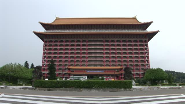View of Grand Hotel in Taipei Taiwan