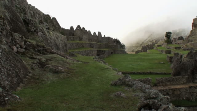 WS ZI ZO View of green Urubamba valley with river / Aguas Calientes, Peru