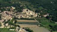 AERIAL, View of Grignan, Rhone-Alpes, France