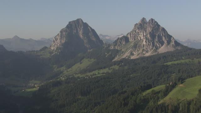 WS POV  View of Grosser Mythen Mid / Alpthal, Schwyz, Switzerland