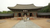 MS View of Gyeongju Bulguksa Daeungjeon (Temple's Main Building) UNESCO World Heritage / Gyeongju, Gyeongsangbuk-do, South Korea
