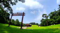 View of Gyeongneung of Joseon Royal Tombs (Korea Historic Place 193, UNESCO World Heritage Sites)